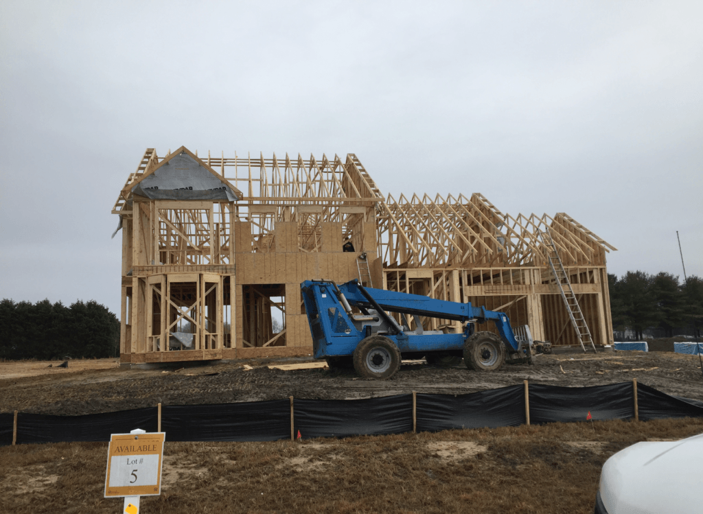 About - Initial House Construction