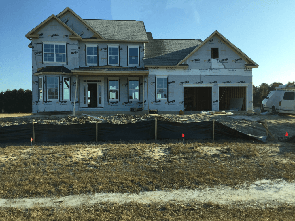 About- Home Construction in Progress