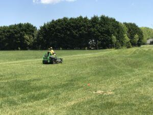 How to Care for New Sod- First sod lawn mow