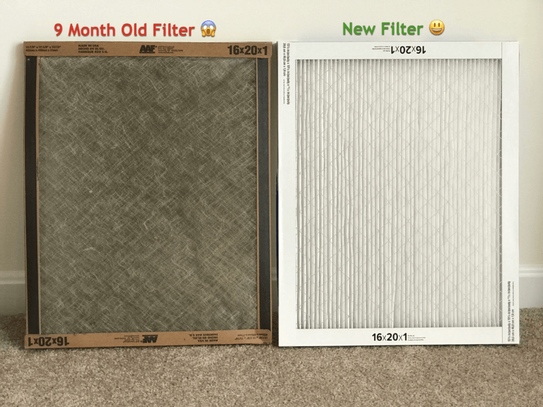 What Happens if You Forget to Replace Your Furnace Air Filter? - 9-month old filter