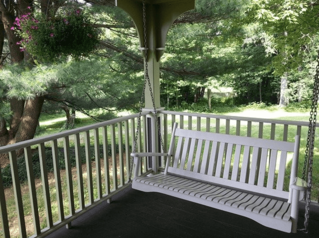 Can my porch support a swing? - Swing location