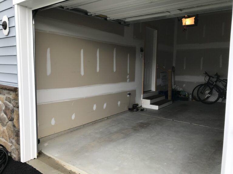 Level 2 drywall finish example