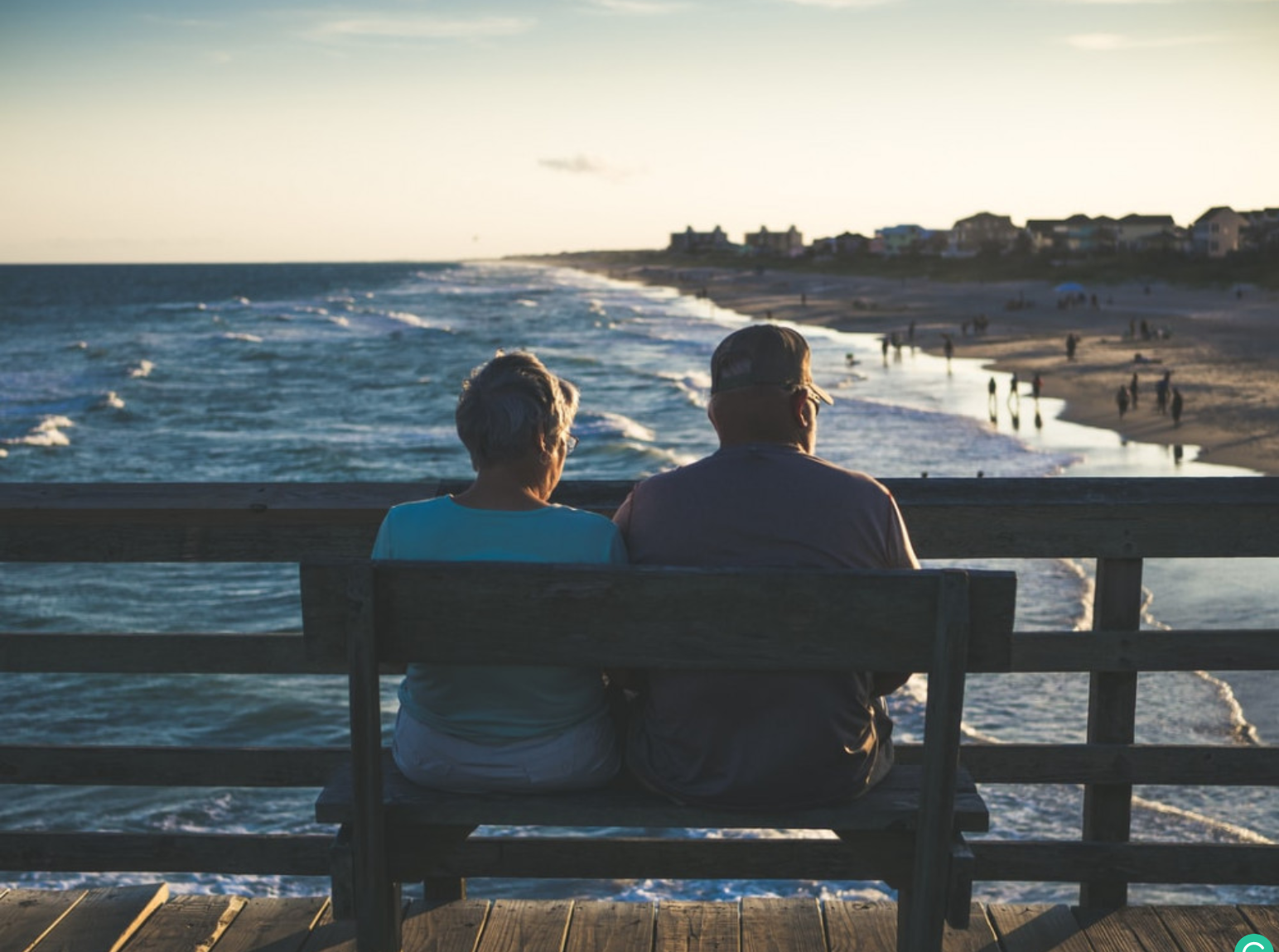 5 Retirement Expenses That May Shock You - Retired couple on bench