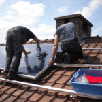 Advantages and Disadvantages of Solar Energy for Your Home - Installing Solar Panels on a Roof