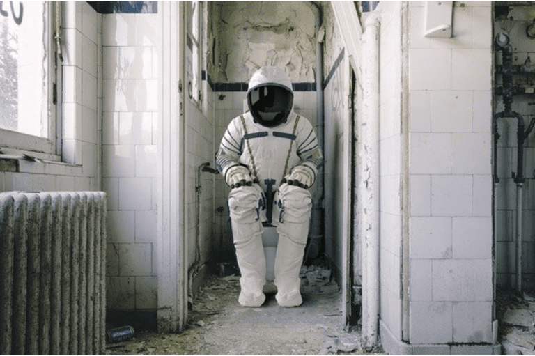 What Do I Need to Know About Toilets? - Astronaut on Toilet