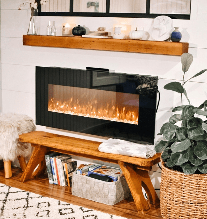 Are Electric Fireplaces Tacky? - Electric Fireplace Example