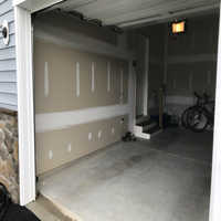 House Notebook - Why Are Garages not Painted