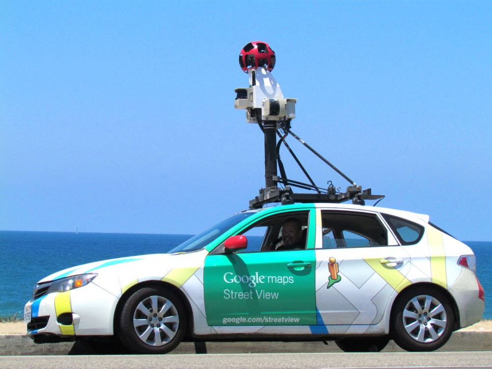 How Often Does Google Update Street View? - Recording car